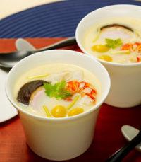 Naoko-sensei's Japanese Recipe No.7 : Chawanmushi (Savory Egg Custard)/なおこ先生の和食レシピ⑦「簡単!茶碗蒸し」|英語でお料理