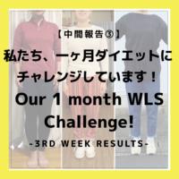 【中間報告③】私たち、一ヶ月公開ダイエットにチャレンジしてます!【3rd week results】1 month WLS project 【weight loss challenge】【Japanese ladies】