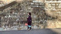 着物が似合うスポット探し in 佐世保 ① :勝富遊郭跡「松竹荘」Discovering Sasebo's old brothel town 【kimono】【カジュアルきもの】