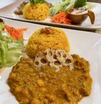 「ゆぴずカレーランチ」で完全ヴィーガンカレーを堪能!Vegan curry at Yuppy's Curry Lunch in Sasebo 佐世保ランチ