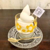 大人気!カフェコラサの絶品ソフトクリーム Cafe Corasa : rich creamy soft serve ice cream 【早岐カフェ】【佐世保】【Sasebo】