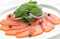 【Cooking】Super Easy! Fresh Salmon Carpaccio with Ponzu Dressing  Naoko-sensei's Japanese Recipe No.9  「超簡単! 和風カルパッチョ」なおこ先生の和食クッキング⑨【英語のレシピ】