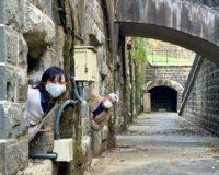 佐世保観光マイスター と行く!タクローツアーズ②【ラピュタ?インカ遺跡?】石原岳森林公園でBBQ&護衛艦カレーを食べてきました~Hauntingly beautiful!  – Ishiharadake Forest Park & Military Battery Remains with Takuro Tours Sasebo 【石原岳堡塁跡】